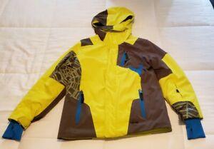 Spyder Boys Jacket, Ski Snowboard Winter Jacket, Size M (12 Boys)  Worn 3 times