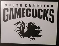 "South Carolina Gamecocks 11"" x 8.5"" Custom Stencil FAST FREE SHIPPING"