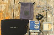 Sony Mz-Nf610 MiniDisc Walkman Recorder High Speed Net - Vintage
