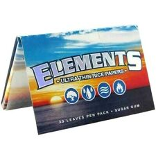 Elements Rolling Paper 1 1/2 Ultra Thin Rice Papers 1.50 Buy4@Only$1.82/Pk USA