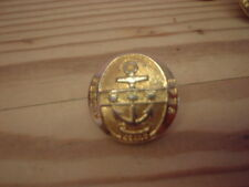 NAVAL TYPE  BUTTON, HULL TRINITY HOUSE ACADEMY, Spes Super Sydera'