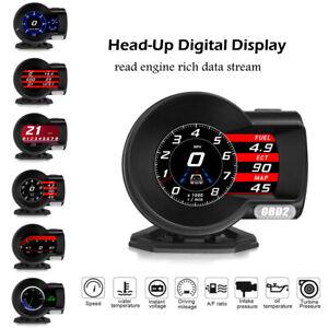 Multi-function Car OBD2 Gauge & Head-Up Digital Display Engine Rich Data Stream