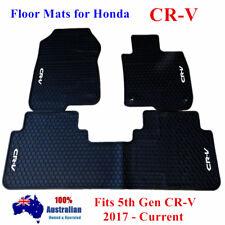 Latex Rubber Waterproof Floor Mats Customized for Honda CRV 5th Gen 2017 - 2019