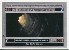 Star Wars CCG Dagobah Unlimited WB Big One: Asteroid Cave/Space Slug Belly [LS]