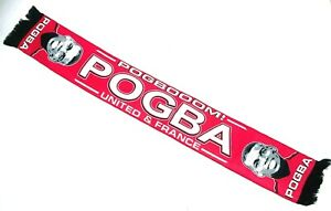 United Player Paul Pogba Scarf Football Gifts