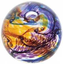 Purple Hand Blown Caithness Art Glass