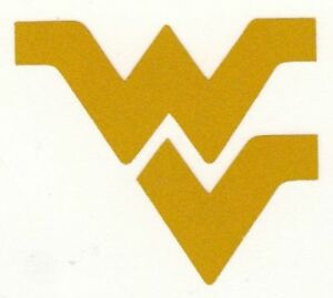 REFLECTIVE West Virginia WV decal sticker up to 12 inches Mountaineer