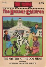 Boxcar Children #35: Mystery at the Dog Show by Gertrude Chandler Warner 1st ed.