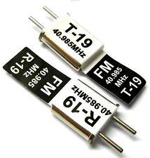 Rc 40 Mhz 40.985 Fm Cristal Tx y Rx Receptor 40mhz Negro