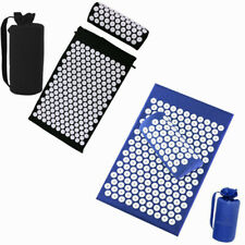 Acupressure Mat + Pillow Set Full Body Pain Stress Tension Muscle Relaxation US