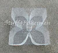 Baitfish, Minnow, Bream, Perch/Pinfish Trap. Galvanized steel. 24x24x12