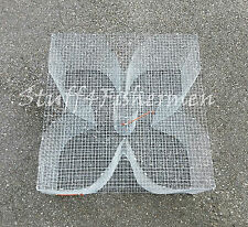 Baitfish, Minnow,Bream,Perch/Pinfis h Trap. Galvanized steel. 24x24x12