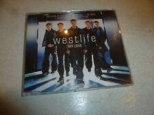 WESTLIFE - My Love - Deleted 2000 UK 3-track enhanced CD single
