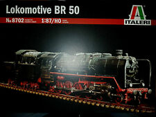 Locomotiva a Vapore Lokomotive BR 50 - Italeri Kit 1:87 8702 Nuovo
