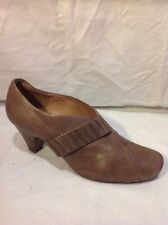 Clarks Wide Fit  Brown Ankle Leather Boots Size 7E