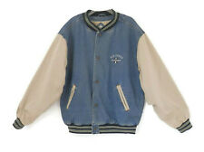 Vintage 80's Air Force Denim Jacket Military Memorabilia by Gear for Sports