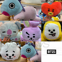 BTS BT21 Official Authentic Goods Lying Pillow Cushion 29 x 46cm + Tracking Num
