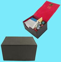 DEX PROTECTION CREATION MEDIUM BLACK 100 DECK BOX Standard Card Storage Case