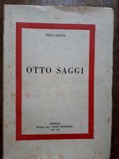 Nello Quilici - Otto saggi - Ferrara, 1934