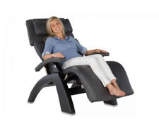 Black Leather PC LIVE PC-610 Human Touch Zero Gravity Perfect Chair Recliner Blk