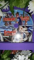 🌼Ernest Goes to Camp/Ernest Goes to Jail~   Double Feature Dvd Set~Disk only🌼