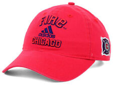 Chicago Fire adidas MLS Soccer Team Red Slouch Cap Hat OSFM