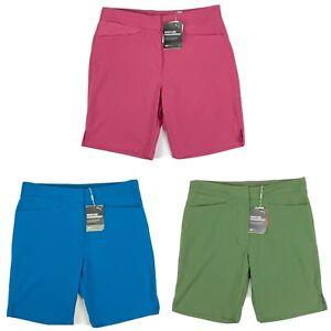 Puma Pounce Bermuda Golf Shorts Rose Digi-Blue Thyme Womens SZ S ( 577944 )