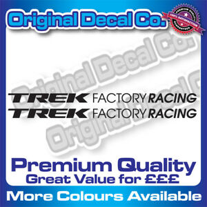 Trek Factory Racing Stickers Premium replacement road bike decals frame mtb