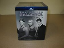 Battlestar Galactica Complete Series Full All Seasons Blu-Ray Silver Box Set NEW