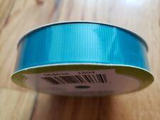 Grosgrain Ribbon teal green 5/8 in x 15 ft (4.5m, 5 Yard)