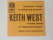 "KEITH WEST / MARK WIRTZ ORCHESTRA Split 7"" 45"