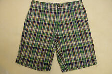 "NEW NWT TOMMY HILFIGER MENS CASUAL SHORTS SIZE 31W x 10.5IN 31"" WAIST GREEN"