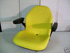 YELLOW SEAT JOHN DEERE X485,X495,X575,X585,X595,X720,X724,X740,X748,X729,749 #KR