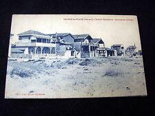 NICE OLD PPC: VALRAS-LA-PLAGE~STATION BALNÉARE~GROUPE DE CHALETS~ARCHITECTURE