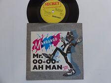 MANDANGO Mr OO OO Ah Man SHH 111 SECRET RECORDS Discotheque RTL