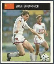ORBIS 1990 WORLD CUP COLLECTION-#213-RUSSIA-SERGEI GORLUKOVICH