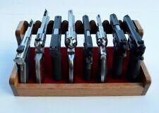 Gun Racks for 8 Pistol/Handgun Storage in Gun Safe Display Stand