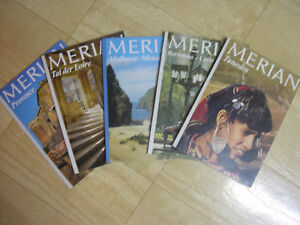 5 Merian Bücher