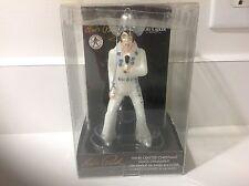 Kurt S Adler Elvis Presley White Jumpsuit Blown Glass Christmas Tree Ornament