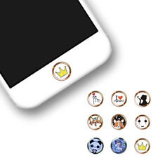 Funny Cartoon Home Button Sticker Fingerprint Identification For iPhone6 8P ing2