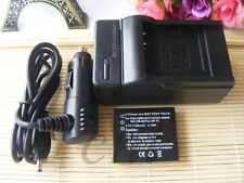 BATTERY + Charger  FOR PANASONIC DMW-BCC12 CGA-S005E 1B