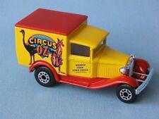 Matchbox MB-38 Ford Model A Van Circus Oz Big Top Clown Yellow UB