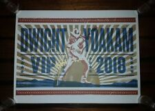 Signed DWIGHT YOAKAM 2018 VIP Limited Edition SHOW PRINT Tour Poster Authentic