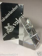 Val Saint Lambert Truncated Prism New In Box