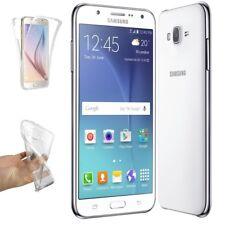 Funda doble transparente para Samsung Galaxy J5 (2015) protector silicona A2273