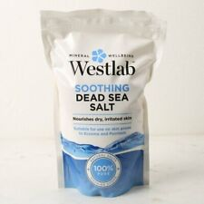Westlab Soothing Dead Sea Bath Salt 1Kg X 4 = 4Kg Nourishes Dry Irritated Skin