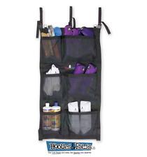 Classic Equine Horse Hanging Groom Case Equipment Storage Bag Black