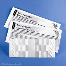 Cash Acceptor Waffletechnology Cleaning Cards (15 cards)