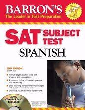 Barron's SAT Subject Test Spanish with Audio CD Diaz M.A., Jose M. Paperback