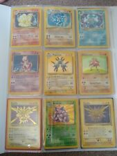 More details for near complete base set, some fossil, some team rocket also cards from other sets